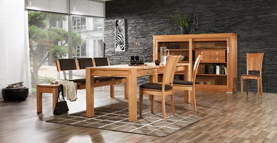 Massivholzmöbel Wohnzimmer Modern ~ Eichenmöbel + moderne Massivholzmöbel 900m² Ausstellung direkt an