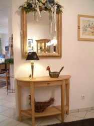 Moderne massivholzm bel aus eiche und massive for Halbrunder tisch