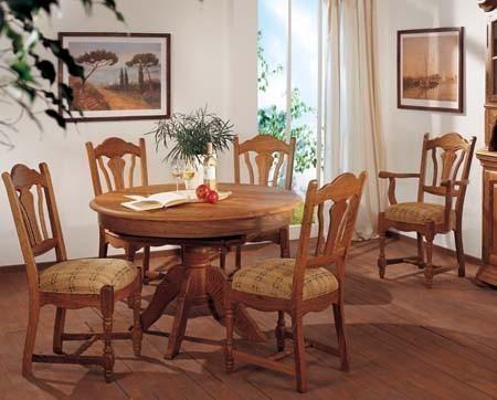 rustikaler runder esstisch altenburg eiche vollmassiv klassische m bel und massive eichenm bel. Black Bedroom Furniture Sets. Home Design Ideas