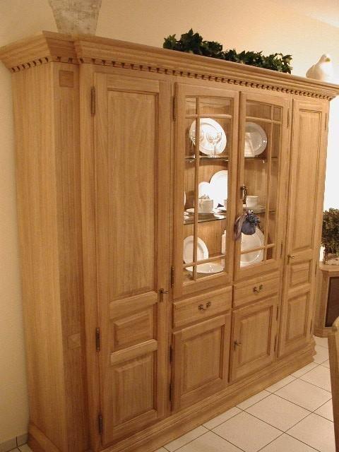 schrank wohnzimmer schrank h nfeld in eiche massiv. Black Bedroom Furniture Sets. Home Design Ideas