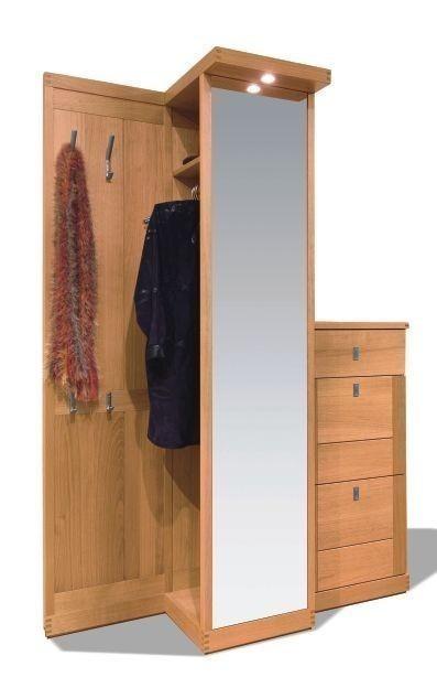 Garderobe kantatus f r den modernen flur eiche massiv for Garderobe flur modern
