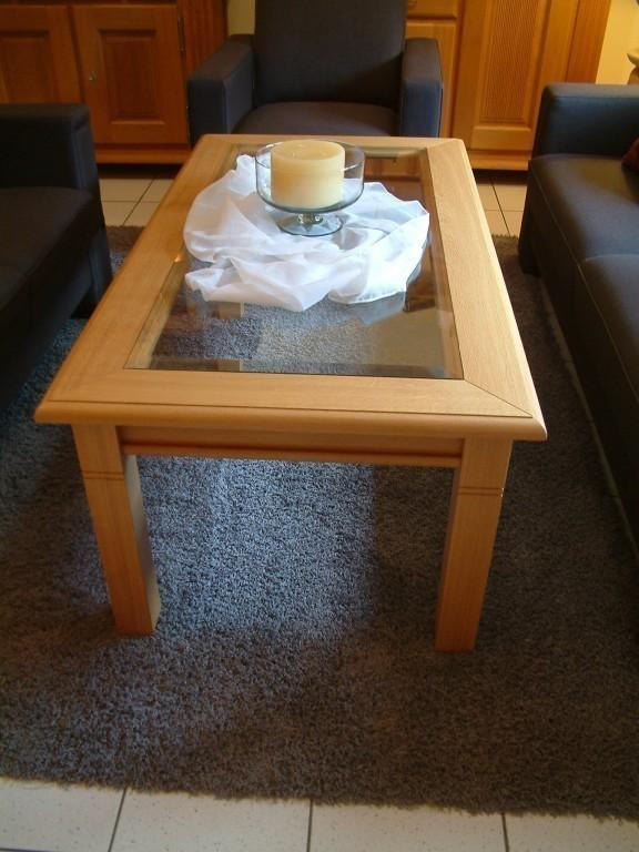 couchtisch gescher mit glasplatte eiche buche oder. Black Bedroom Furniture Sets. Home Design Ideas