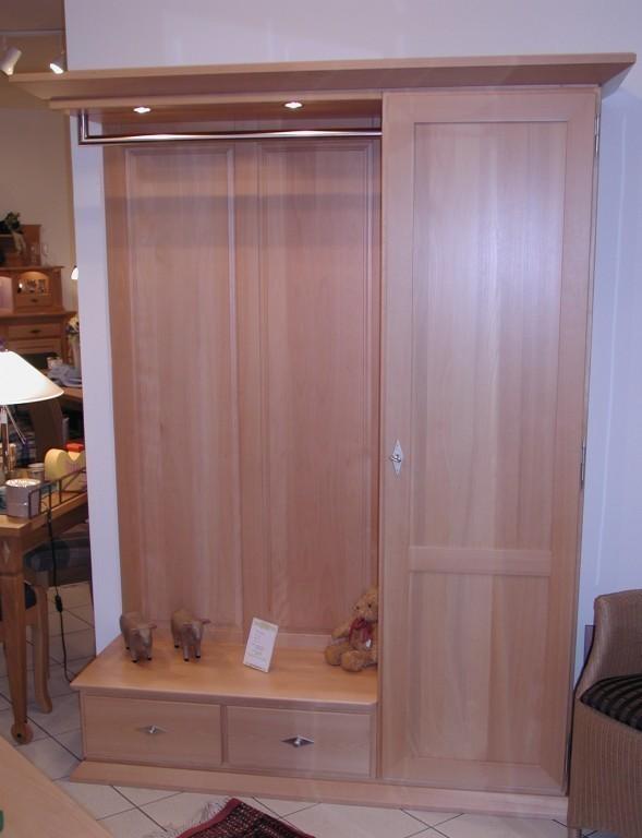 standgarderobe massgarderobe eiche massiv buche massiv. Black Bedroom Furniture Sets. Home Design Ideas
