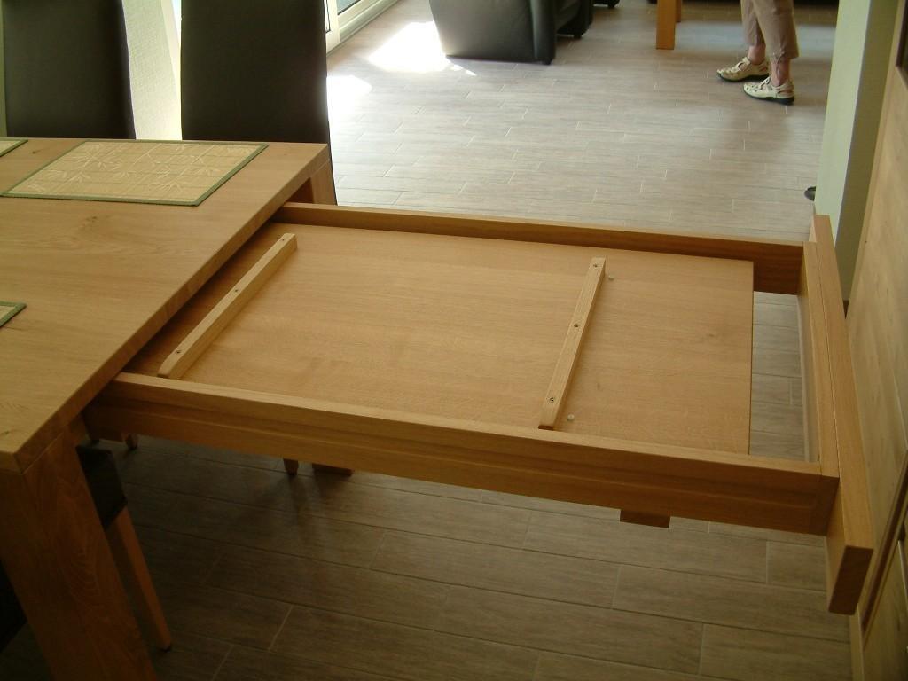 4 fu esstisch variato coesfeld mit 2 ansteckplatten der masstisch in eiche asteiche buche. Black Bedroom Furniture Sets. Home Design Ideas