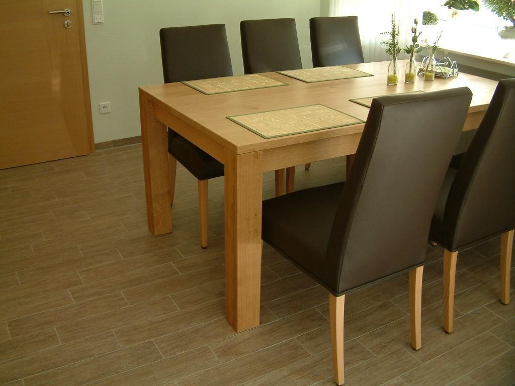 4 fu esstisch variato coesfeld mit 2 ansteckplatten der. Black Bedroom Furniture Sets. Home Design Ideas