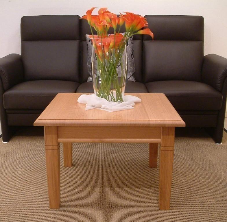 ecktisch landhaus 70 x 70 cm h he 48 cm eiche massiv. Black Bedroom Furniture Sets. Home Design Ideas