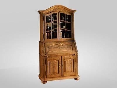sekret r neuhaus 115 cm mit aufsatz eiche massiv gelaugt. Black Bedroom Furniture Sets. Home Design Ideas