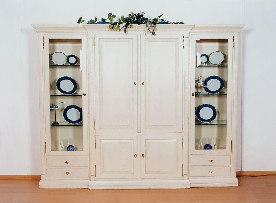wohnschrank montreux 4 t rig eiche buche oder kirschbaum massiv ein sch ner klassischer. Black Bedroom Furniture Sets. Home Design Ideas