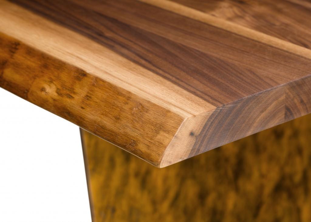 Moderne massivholz esstische