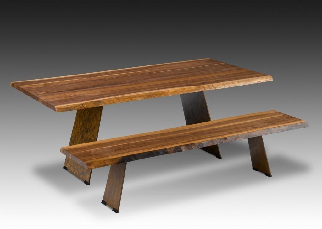 esstisch mit baumkante esstisch chicago baumkante. Black Bedroom Furniture Sets. Home Design Ideas