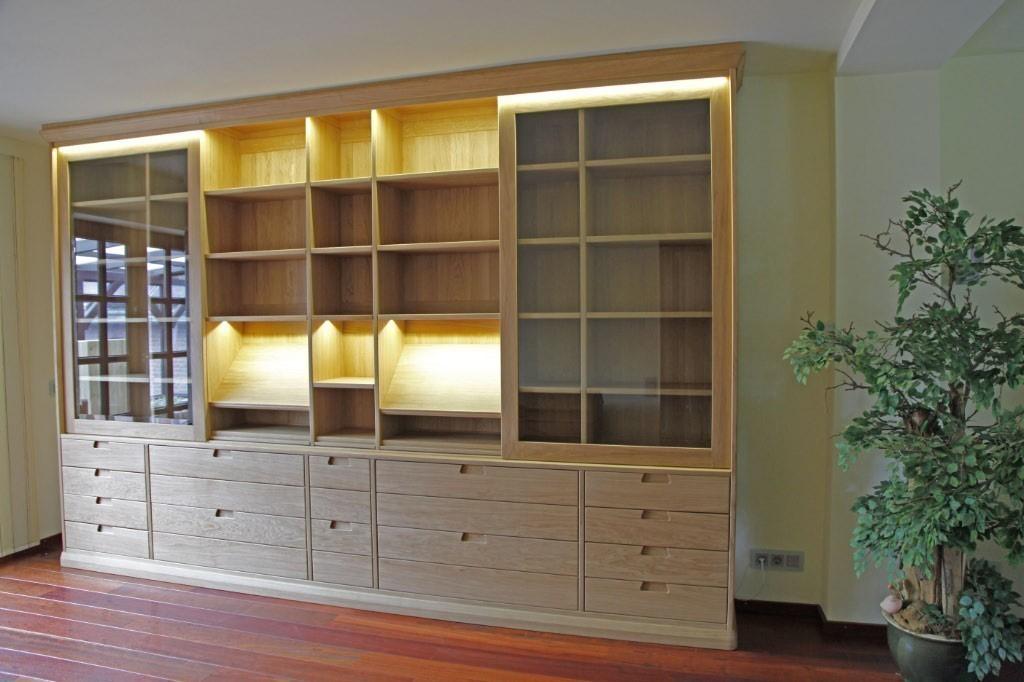 Moderner b cherschrank bibliothek in ma anfertigung in - Moderne landhausmobel ...