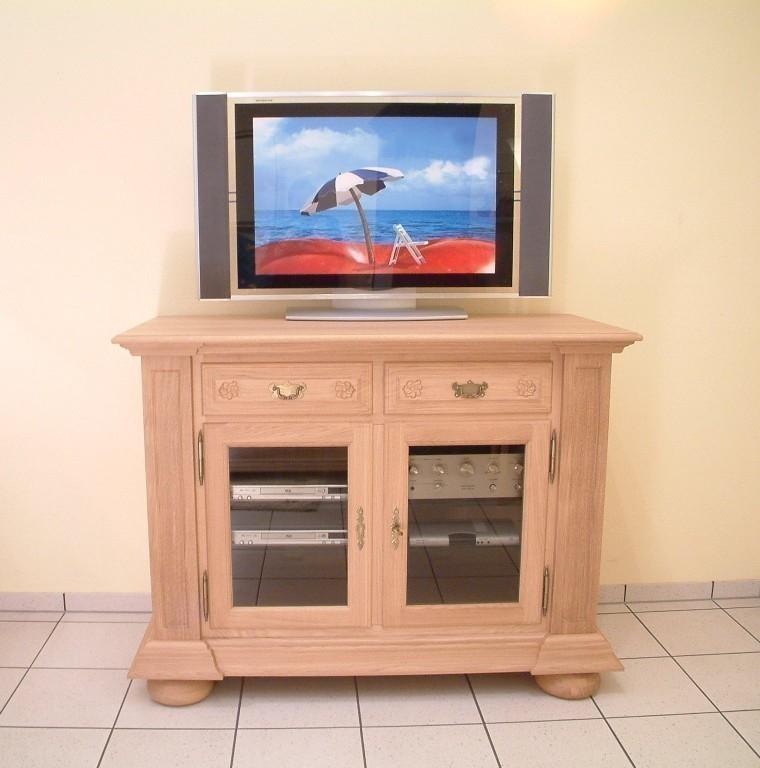 tv anrichte niburg 2 t rig t ren mit parsolglas eiche vollmassiv moderne m bel und. Black Bedroom Furniture Sets. Home Design Ideas