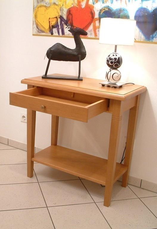 beistelltisch couchtisch kleiner tisch eiche massiv. Black Bedroom Furniture Sets. Home Design Ideas