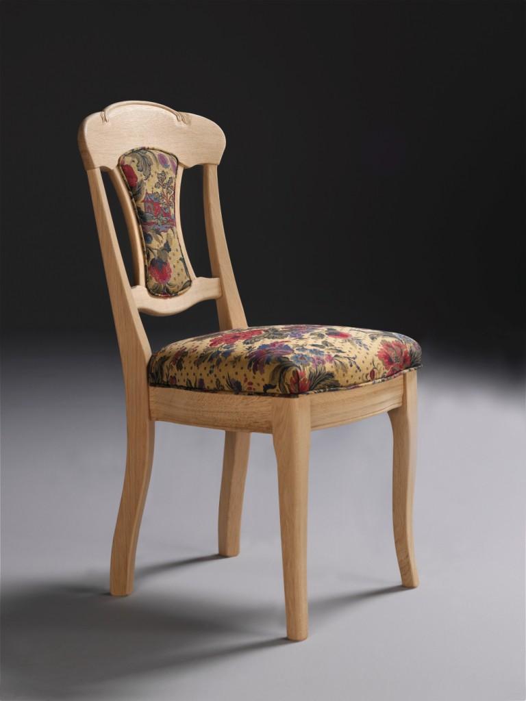 stuhl kelkheim mit r ckenpolster und federkorbsitz eiche. Black Bedroom Furniture Sets. Home Design Ideas