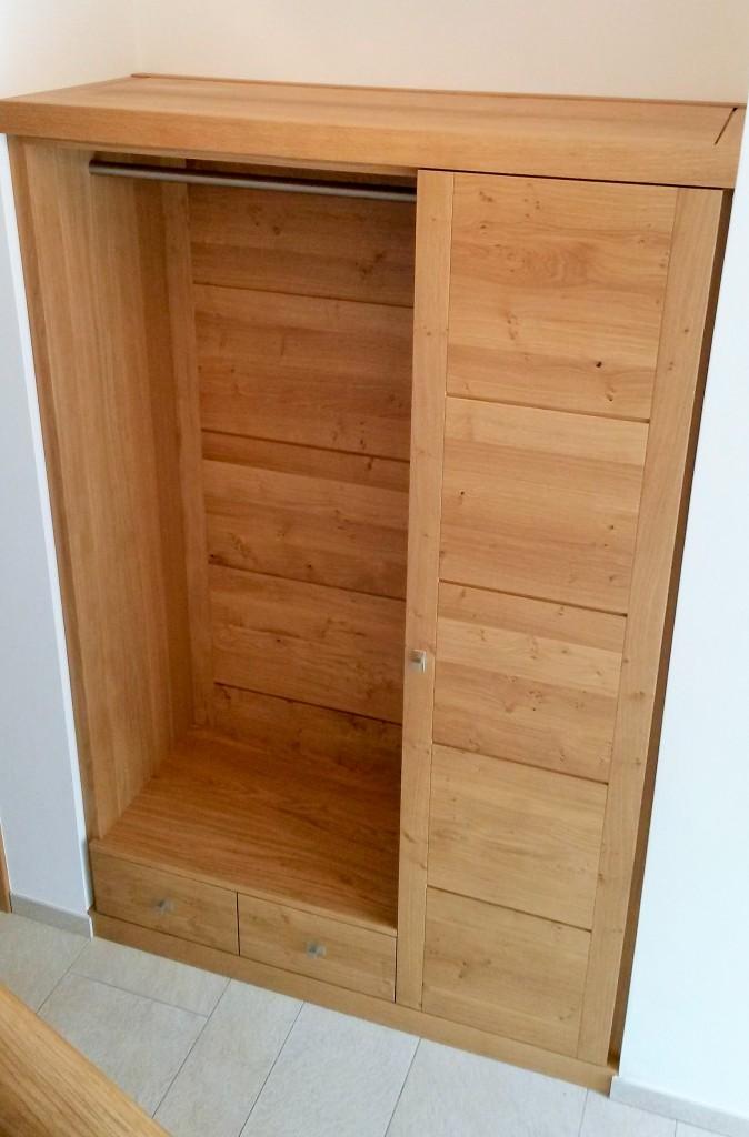moderne einbau garderobe in eiche buche oder kirschbaum modell moderna moderne m bel und. Black Bedroom Furniture Sets. Home Design Ideas