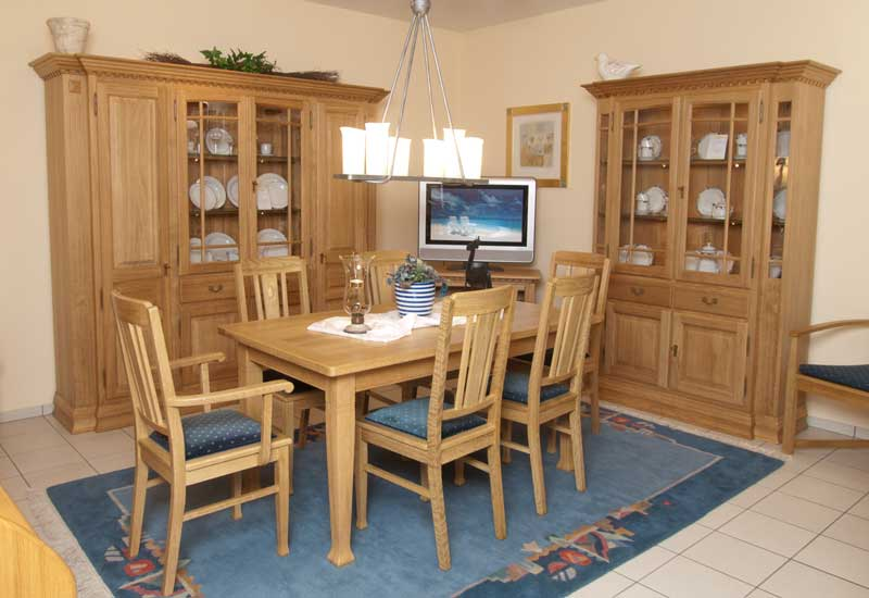 Eichenmöbel moderne massivholzmöbel m² ausstellung